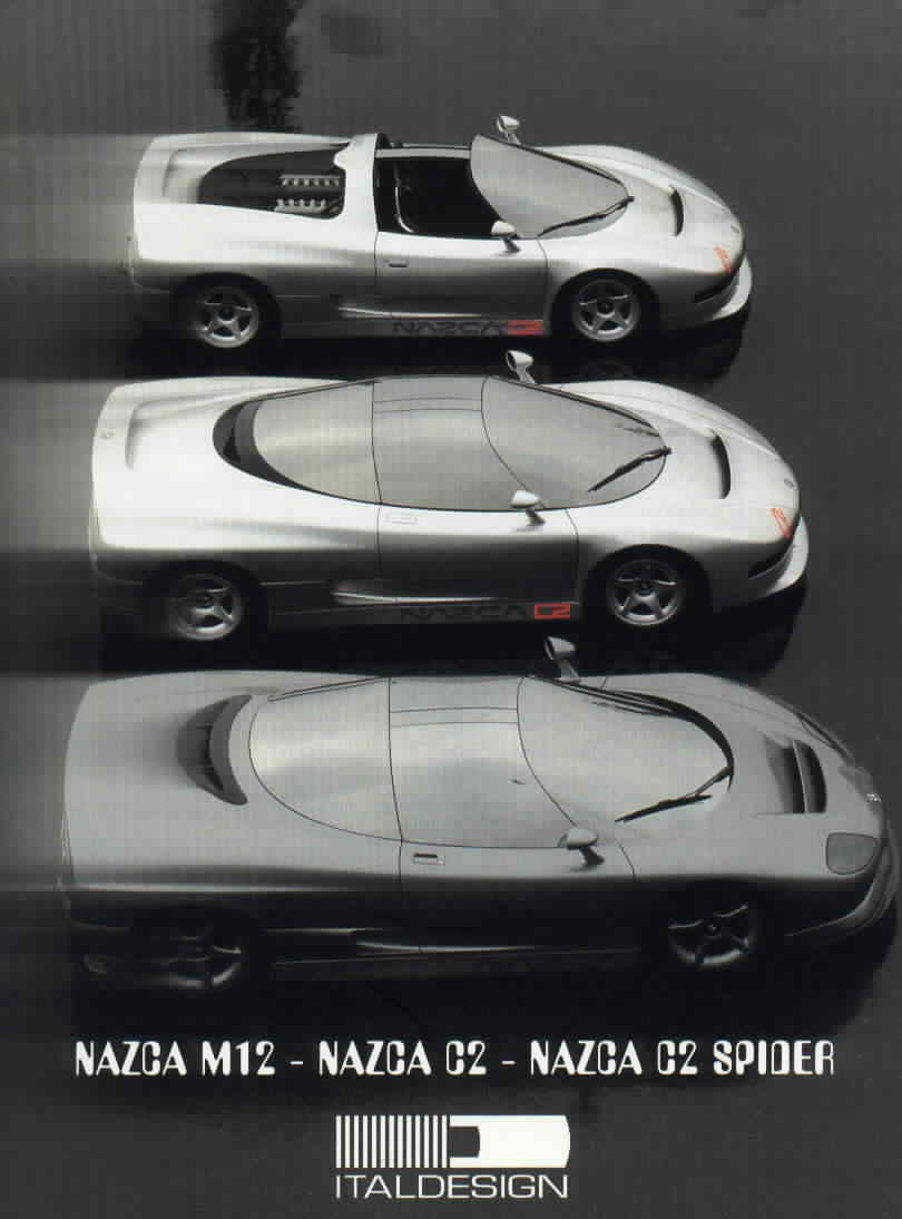Italdesign Nazca M12
