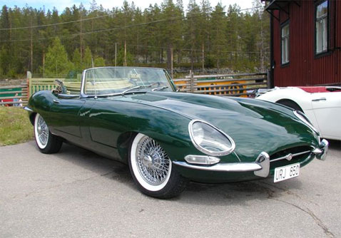 Jaguar E-Type S1