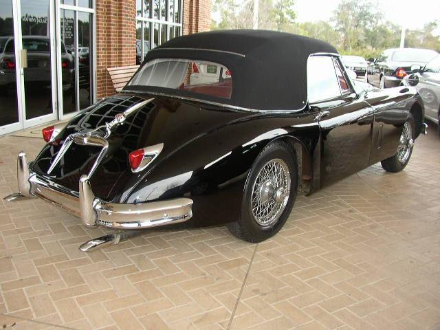 Jaguar XK 150S DHC