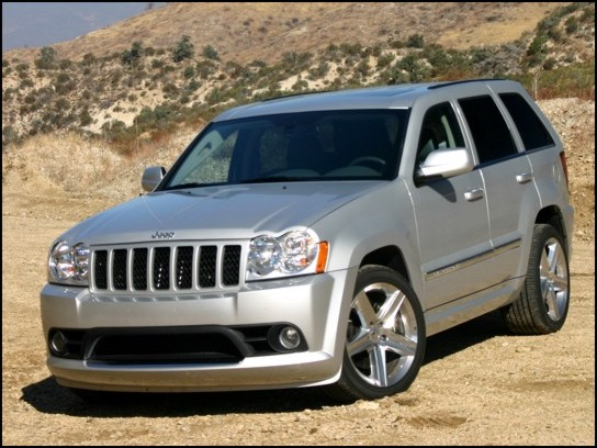 Jeep Grand Cherokee 6.1 SRT8 AT