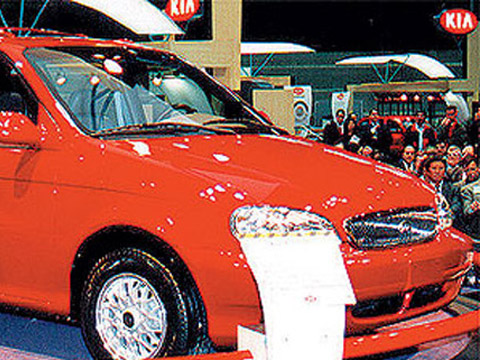 Kia Carnival 2.5 i V6 24V MT