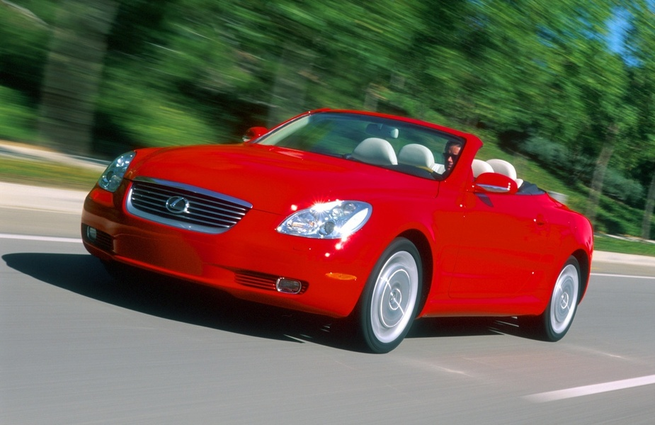 Lexus SC 430 304hp AT