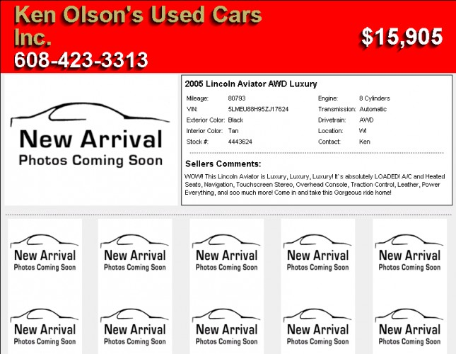 Lincoln Aviator AWD Luxury