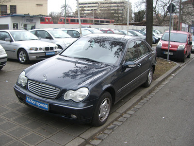 Mercedes-Benz C 200 Kompressor 163hp MT