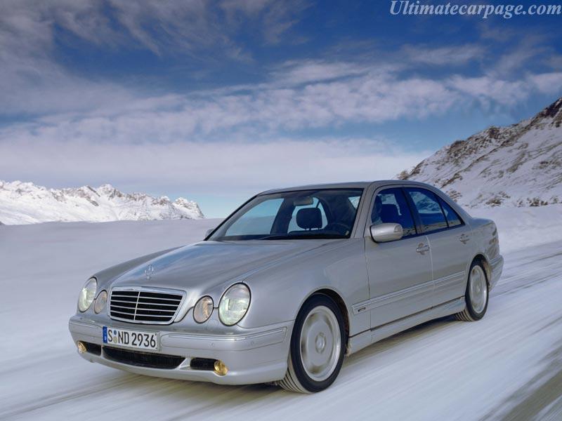 Mercedes-Benz E 55 AMG 4Matic AT