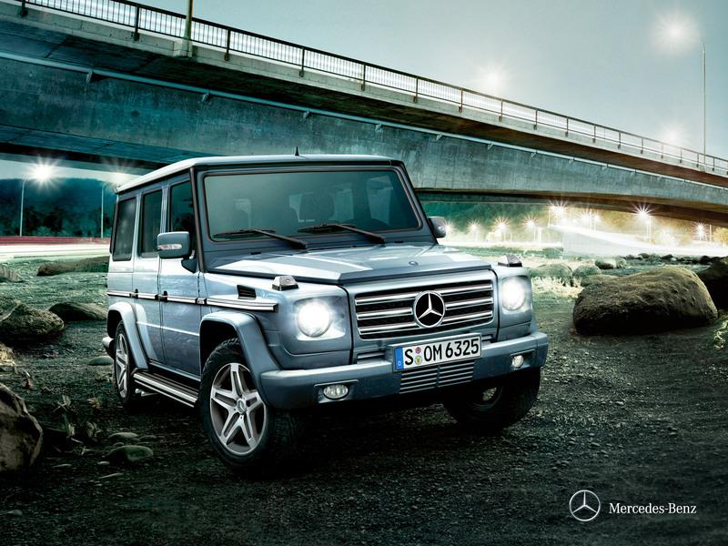 Mercedes-Benz G 320 215hp AT