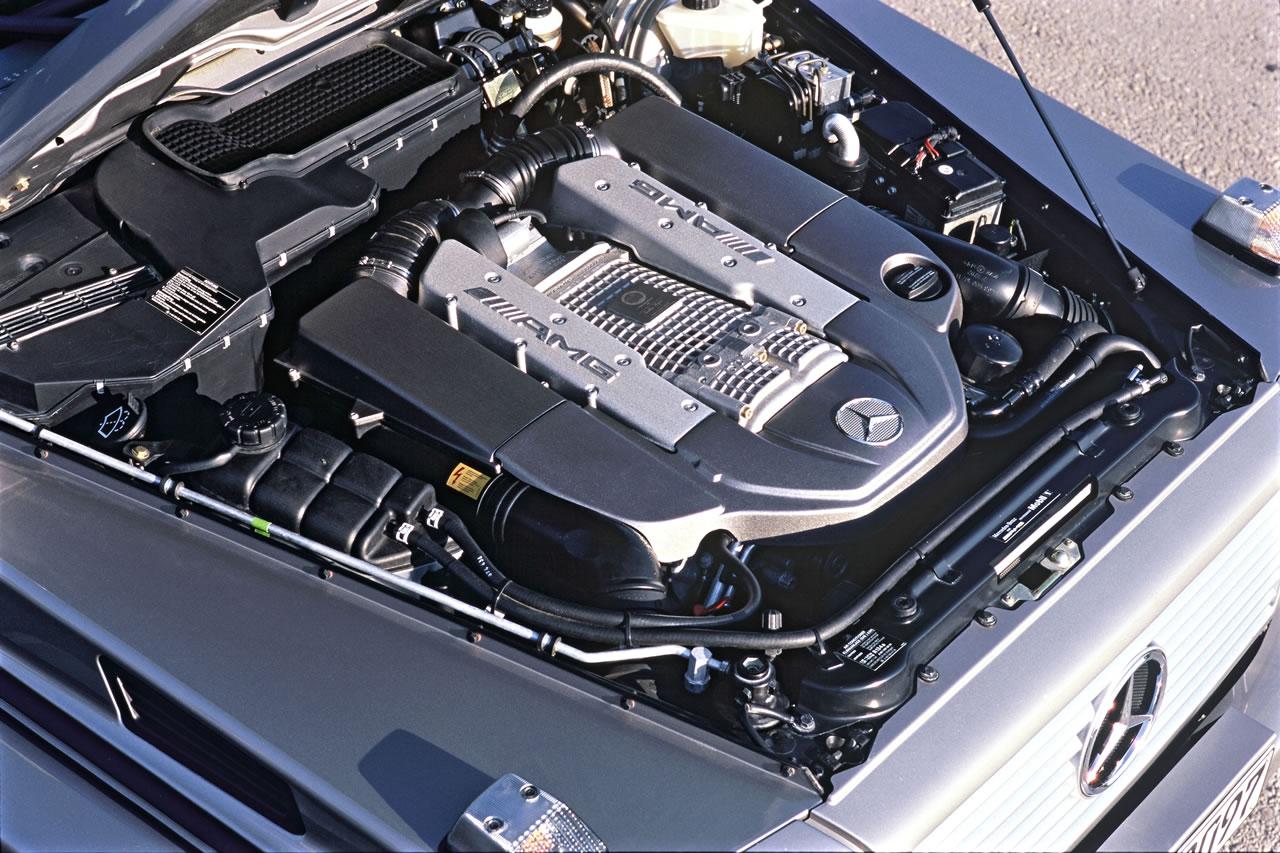 Mercedes-Benz S 55 500hp AT