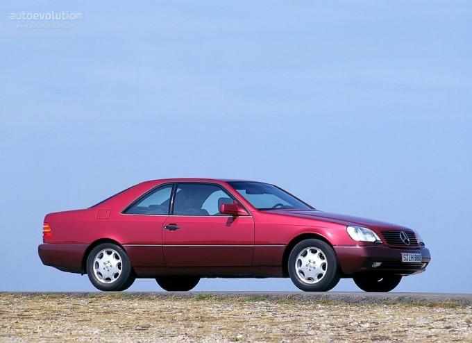 Mercedes-Benz S Coupe SEC/CL 500 (140.070)