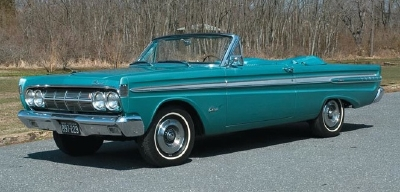 Mercury Comet Convertible
