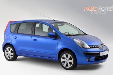Nissan Note 1.6 MT Tekna