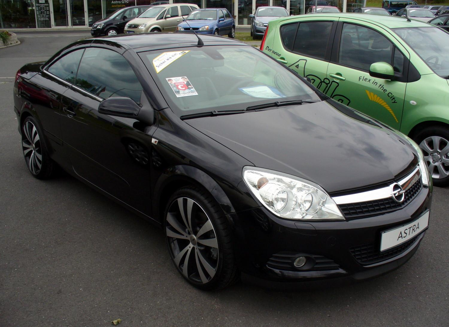 Opel Astra 1.6 TwinTop