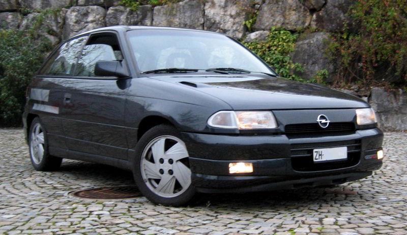 Opel Astra 2.0 GSI 16V