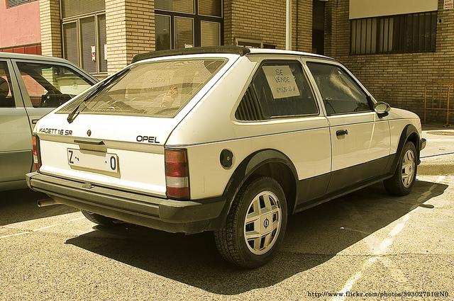 Opel Kadett 1.6 SR