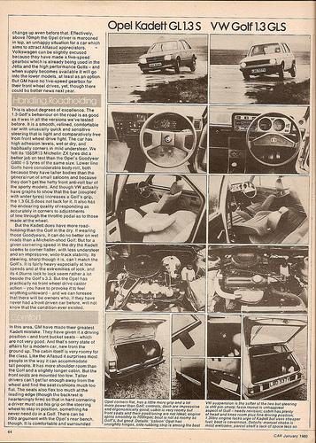 Opel Kadett 1.3 S