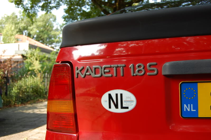 Opel Kadett 1.8 S