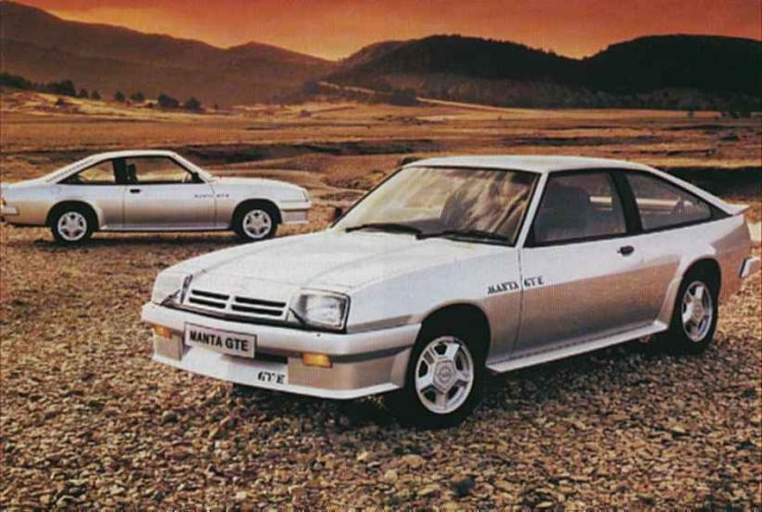 Opel Manta 2.0 GTE Coupe