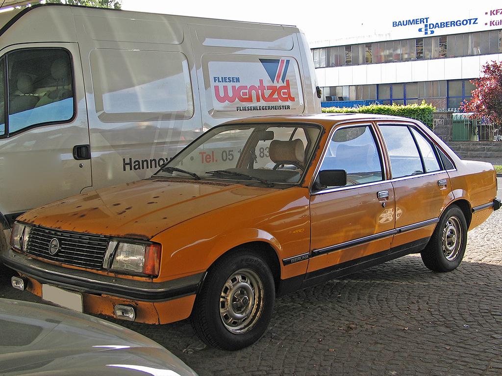 Opel Rekord 2.2 D
