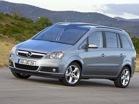 Opel Zafira 2.2 150hp AT