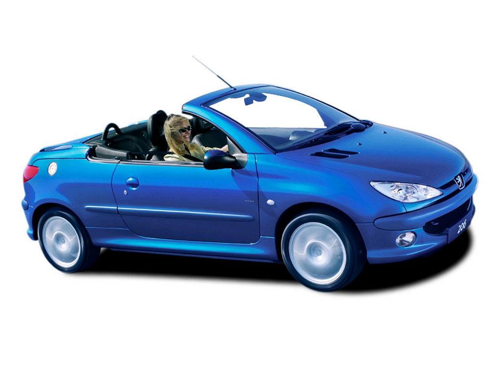 Peugeot 206 1.6 CC Coupe Cabriolet