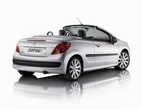 view of peugeot 206 1 6 cc coupe cabriolet photos video features and tuning of vehicles. Black Bedroom Furniture Sets. Home Design Ideas
