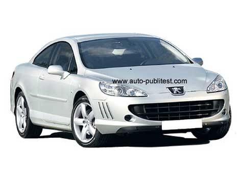 Peugeot 407 2.2 Coupe V6 HDi