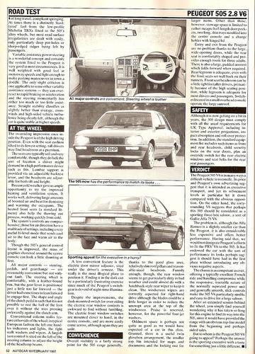 Peugeot 505 2.8 GTI V6