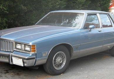 Pontiac 6000 Wagon 4.3 D
