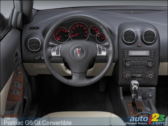 Pontiac G6 GT Convertible