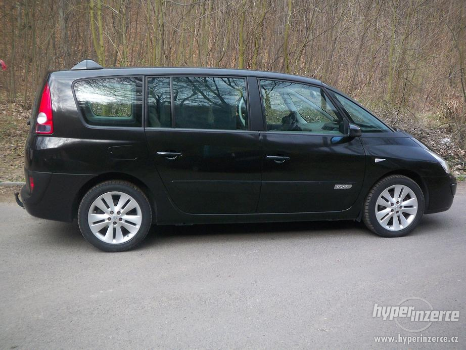 view of renault espace 3 0 dci at photos video features and tuning. Black Bedroom Furniture Sets. Home Design Ideas