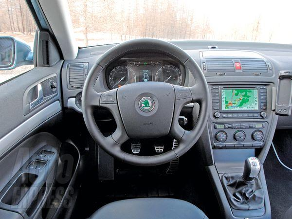 view of skoda octavia 2.0 tdi. photos, video, features and tuning of