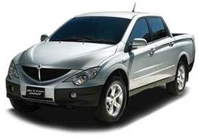 SsangYong Actyon 2.0 D 149hp 4WD MT Original
