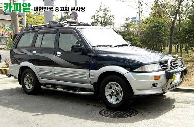 SsangYong Musso 602 El