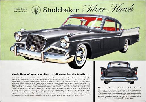 Studebaker Silver Hawk