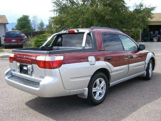 Subaru Baja Sport
