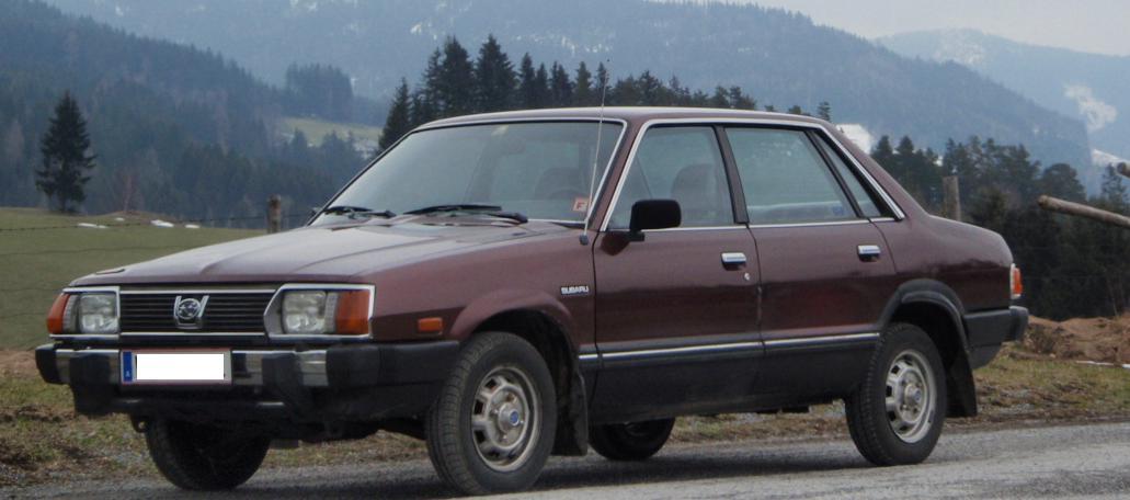 Subaru Leone 1800 4WD (AM)