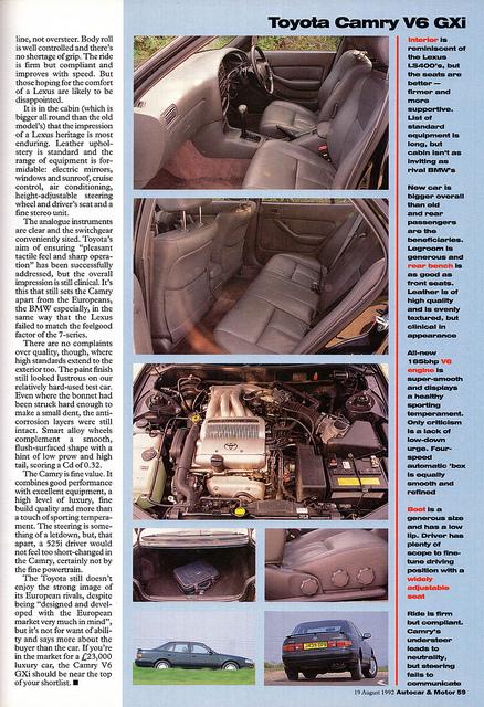 Toyota Camry 3.0 V6 GXi