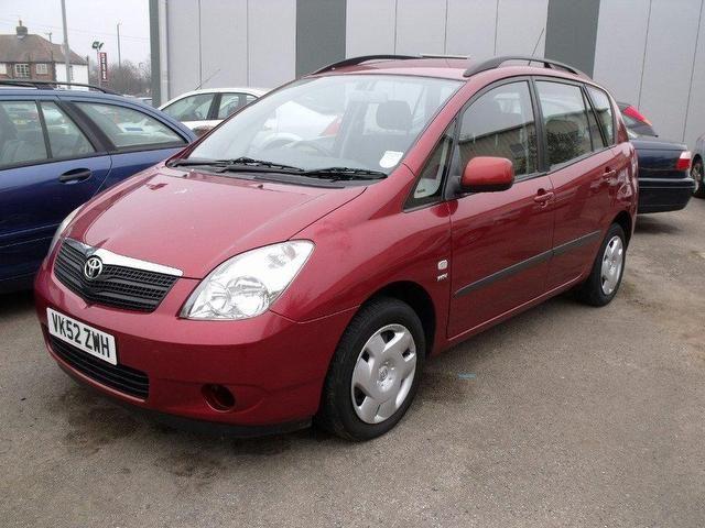 Toyota Corolla Verso 1.6 VVT-i