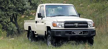 Toyota Land Cruiser Pickup 4.2 D