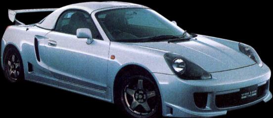 Toyota TRD MR2 Spyder