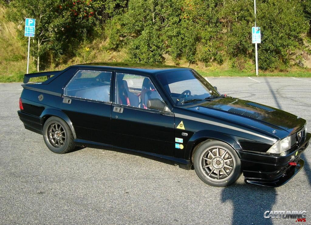 Photos Of Alfa Romeo 75 Photo Tuning Alfa Romeo 75 03 Jpg Gr8autophoto Com