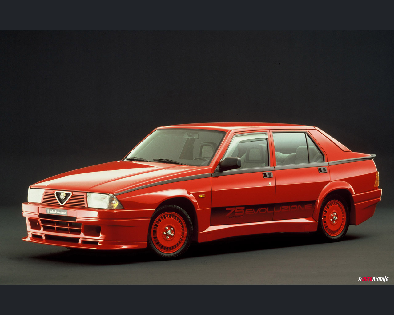 Photos Of Alfa Romeo 75 2 0 Turbo Diesel Photo Tuning Alfa Romeo 75 2 0 Turbo Diesel 02 Jpg Gr8autophoto Com