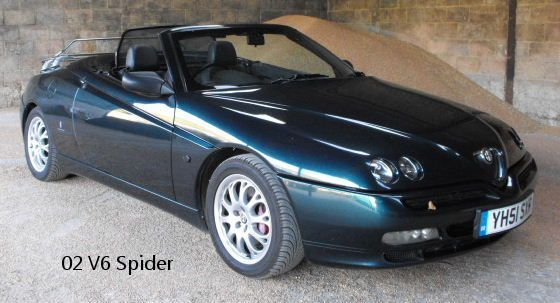 Alfa Romeo Spider 3.0 i V6