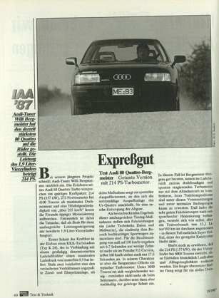 Audi 80 1.9 D