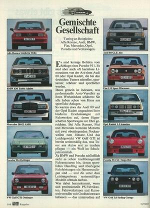 Audi 80 GLE