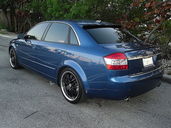 view of audi a4 avant 1.8 t. photos, video, features and tuning