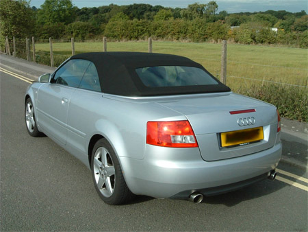 Audi A4 Cabrio 3.0 V6