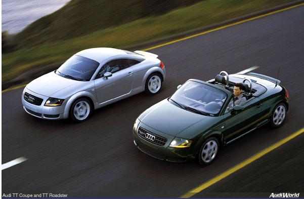 Audi TT 3.2 V6 Roadster Quattro DSG