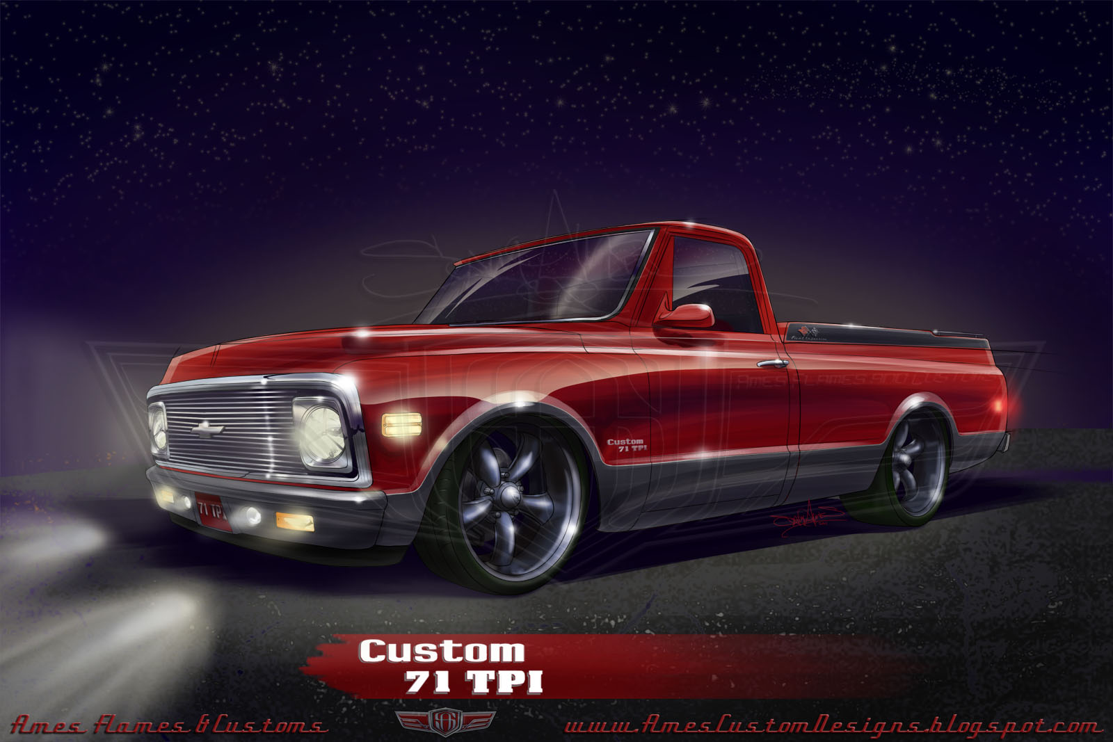 Chevrolet C-10 Longbed Fleetside