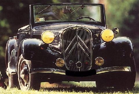 Citroen 11 Cabriolet