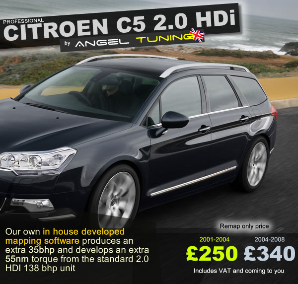 Citroen C5 2.0 HDi AT Exclusive